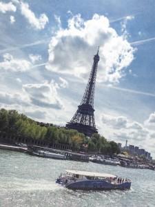 Label Voyageuse - Tour Eiffel Paris