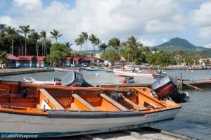 Label Voyageuse - Le Vauclin - Port de pêche