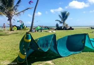 Label Voyageuse - Kite Le Vauclin Pointe Faula