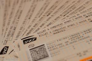 Label Voyageuse - billet de train SNCF
