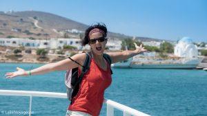 Label Voyageuse - Kitesurf Paros