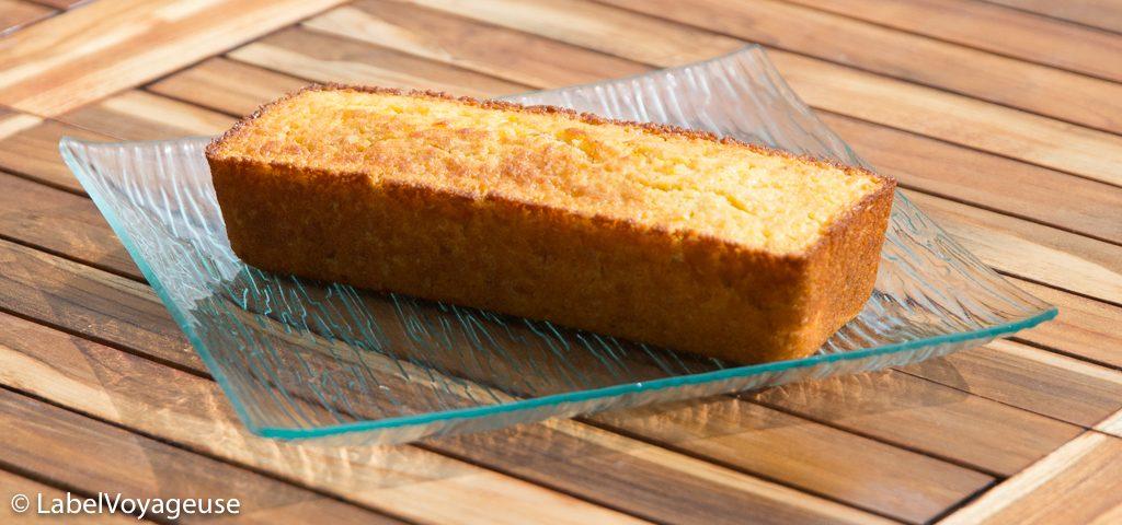 Label Voyageuse - Cake Carotte Coco