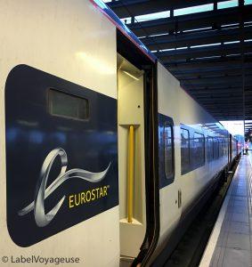 Label Voyageuse -Eurostar