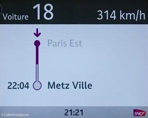 Label Voyageuse - trains Gazette SNCF Metz