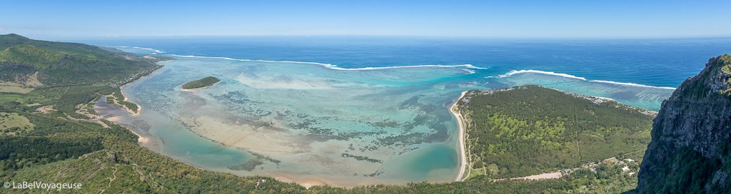 Label Voyageuse - Kite - Ile Maurice
