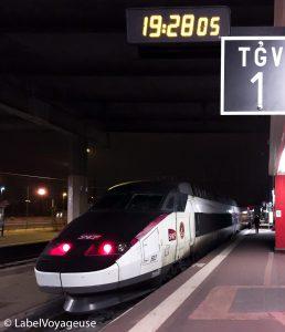 Label Voyageuse - Gazette SNCF mou