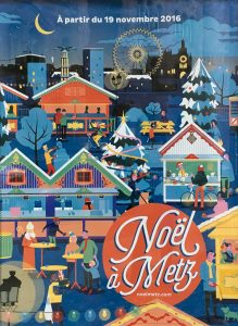 Label Voyageuse - Marché de Noël Metz